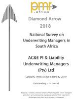 PMR Diamond Award 2018<br/>PI Cover