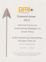 PMR Diamond Award 2012