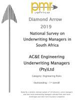 PMR Diamond Award 2019<br/>Engineering