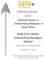 PMR Diamond Award 2019<br/>PI and Liability